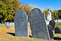 Cemetery, Lexington, MA, Massachusetts, USA