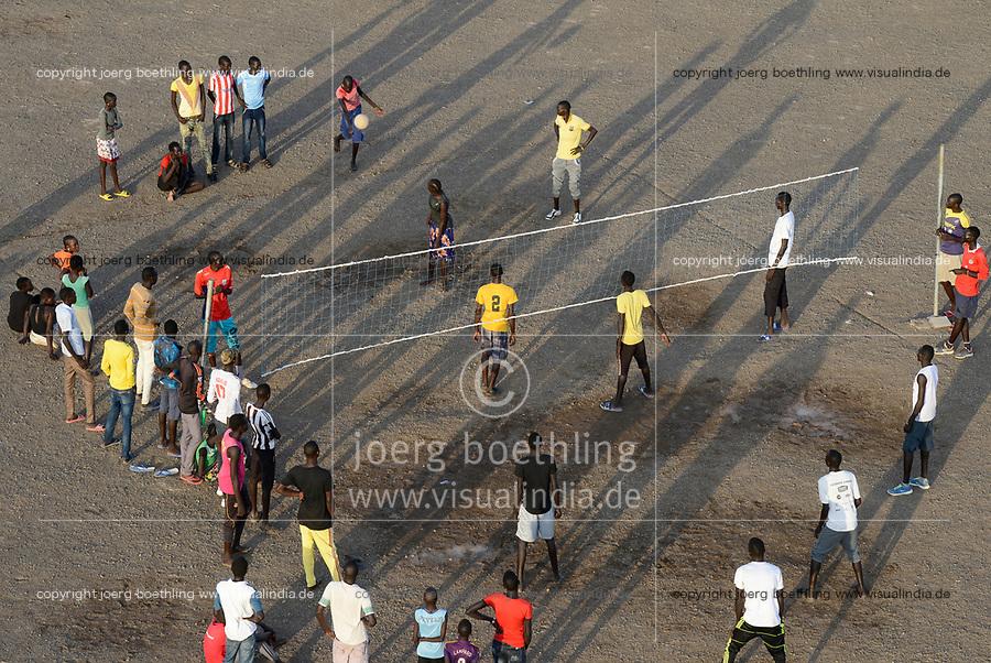 KENYA, Turkana, refugee camp Kakuma for 160.000 refugees, Kakuma IV for mainly south sudanese refugees / KENIA, Turkana, Fluechtlingslager Kakuma fuer 160.000 Fluechtlinge, Kakuma IV, vorwiegend fuer Fluechtlinge aus dem Sued-Sudan