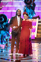 Miguel and Natalia Lafourcade perform during the live ABC Telecast of The 90th Oscars&reg; at the Dolby&reg; Theatre in Hollywood, CA on Sunday, March 4, 2018.<br /> *Editorial Use Only*<br /> CAP/PLF/AMPAS<br /> Supplied by Capital Pictures