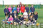 Pupils from Third, Fourth, Fifth and Sixth classes of Abbeydorney National school at the at the 'bring Camogie back'  an initiative by the Munster Council to get schools in Kerry to play Camogie, the event was held at the IT North Campus on Friday