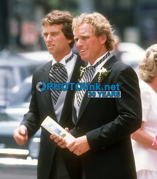 Robert Kennedy Jr Joe Kennedy Jr, 1990, Photo By John Barrett/PHOTOlink