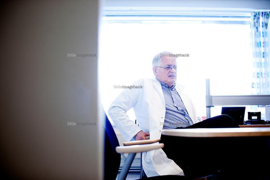 Oslo, Norge, 02.02.2012. Vi møter Øyvind Modalsli, avdelingsleder ved Avdeling for Urologi ved Aker Sykeshus. Foto: Christopher Olssøn.