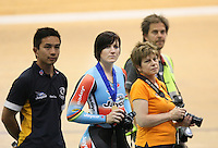 at the 2014 Oceania Track Championships, Sit Zero Fees Velodrome, Invercargill, New Zealand, Friday, November 22, 2013. Photo: Dianne Manson / NINZ