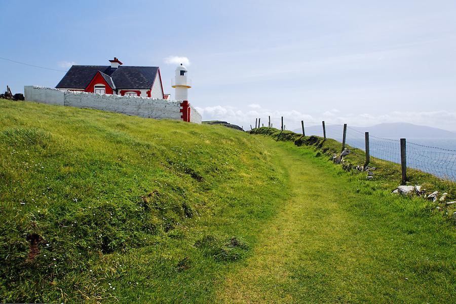 Dingle Harbour Lighthouse, Dingle (An Daingean), Dingle Peninsula, County Kerry, Republic of Ireland