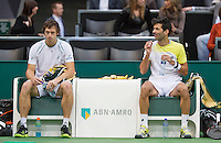 14-02-13, Tennis, Rotterdam,   Julian Knowle  Filip Polasek(L)