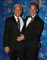 WEST HOLLYWOOD, CA - SEPTEMBER 24: Greg Louganis, Johnny Chaillot attends the Los Angeles LGBT Center's 47th Anniversary Gala Vanguard Awards at Pacific Design Center on September 24, 2016 in West Hollywood, California. (Credit: Parisa Afsahi/MediaPunch).