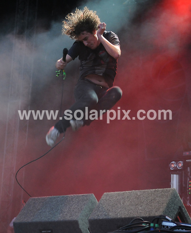 **ALL ROUND PICTURES FROM SOLARPIX.COM**.**WORLDWIDE SYNDICATION RIGHTS**.artists perform live at V Festival, Chelmsford, UK. 16th August 2008..This pic: The Pigeon Detectives..JOB REF: 7038 SSD     DATE: 16_08_2008.**MUST CREDIT SOLARPIX.COM OR DOUBLE FEE WILL BE CHARGED* *UNDER NO CIRCUMSTANCES IS THIS IMAGE TO BE REPRODUCED FOR ANY ONLINE EDITION WITHOUT PRIOR PERMISSION*