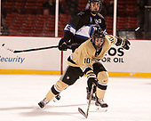Trevor Fidler (Army - 10), Chris Buchanan (Bentley - 5) - The Bentley University Falcons defeated the Army West Point Black Knights 3-1 (EN) on Thursday, January 5, 2017, at Fenway Park in Boston, Massachusetts.The Bentley University Falcons defeated the Army West Point Black Knights 3-1 (EN) on Thursday, January 5, 2017, at Fenway Park in Boston, Massachusetts.