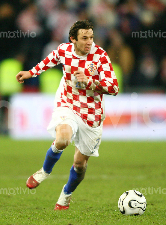 Fussball International Testspiel Kroatien - Argentinien Darijo Srna (CRO)