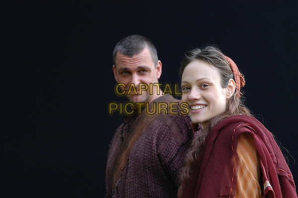 RAY STEVENSON & CHAIRA MASTALLI.in Rome..*Editorial Use Only*.www.capitalpictures.com.sales@capitalpictures.com.Supplied by Capital Pictures.