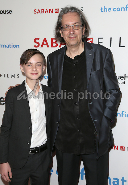 "15 March 2016 - Hollywood, California - Jaeden Lieberher, Bob Nelson. ""The Confirmation"" Los Angeles Premiere held at NeueHouse Hollywood. Photo Credit: Sammi/AdMedia"