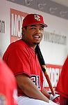 21 May 2006: Daryle Ward, outfielder for the Washington Nationals, in the dugout during a game against the Baltimore Orioles at RFK Stadium in Washington, DC. The Nationals defeated the Orioles 3-1 to take 2 of 3 games in their first inter-league series...Mandatory Photo Credit: Ed Wolfstein Photo..