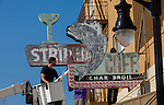 Rio Vista - Striper Cafe Sign Restoration