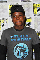 SAN DIEGO - July 23:  Mpho Koaho at Comic-Con Sunday 2017 at the Comic-Con International Convention on July 23, 2017 in San Diego, CA