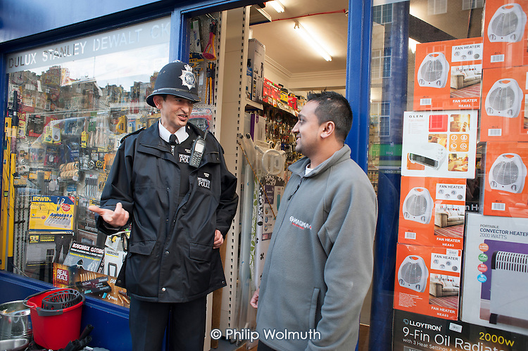 Metropolitan Police Constable and shopkeeper, Paddington.