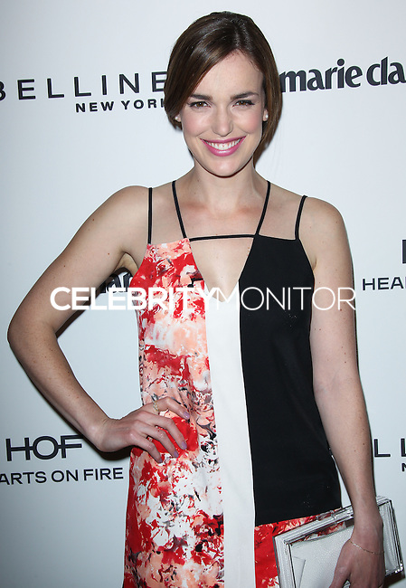 WEST HOLLYWOOD, CA, USA - APRIL 08: Elizabeth Henstridge at the Marie Claire Fresh Faces Party Celebrating May Cover Stars held at Soho House on April 8, 2014 in West Hollywood, California, United States. (Photo by Celebrity Monitor)