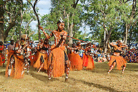 Pormpuraaw Dancers,  Laura Aboriginal Dance Festival, Laura, Cape York Peninsula, Queensland, Australia.