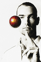 110125 Cricket - Andy McKay Photoshoot