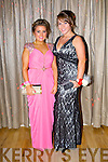 Ella Murphy and Katie O'Mahony enjoying the St Joseph's Presentation, Castleisland Debs Ball at the Earl of Desmond hotel on Saturday.