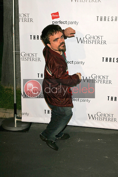 Peter Dinkage<br /> At the CBS &quot;Ghost Whisperer&quot; and &quot;Threshold&quot; premiere screening, Hollywood Forever Cemetery, Hollywood, CA 09-09-05<br /> David Edwards/DailyCeleb.Com 818-249-4998