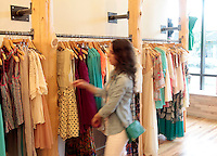 Langford Market retail clothing store located in the Shops at Stonefield in Charlottesville, VA. Photo/Andrew Shurtleff