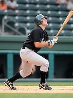 May 27, 2008: Infielder Craig Casey (32) of the Savannah Sand Gnats, Class A affiliate of the New York Mets, in a game against the Greenville Drive at Fluor Field at the West End in Greenville, S.C. Photo by:  Tom Priddy/Four Seam Images