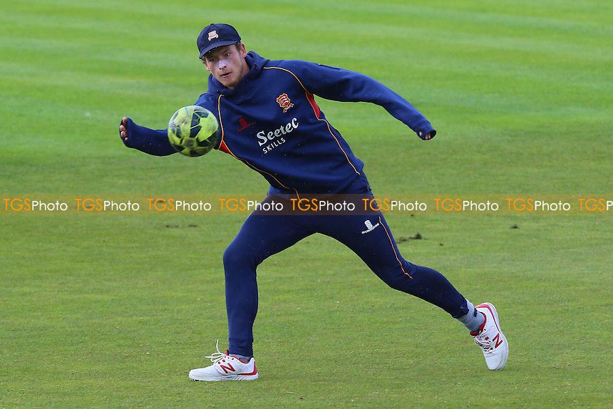 Tom Westley of Essex plays football ahead of Worcestershire CCC vs Essex CCC, Specsavers County Championship Division 2 Cricket at New Road on 3rd May 2016