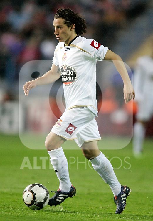 Deportivo de la Coruna's Andres Guardado during La Liga match. April 04, 2010. (ALTERPHOTOS/Alvaro Hernandez)