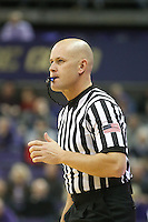 SEATTLE, WA - DECEMBER 18: NCAA basketball official Kipp Kissinger was on hand for the game between Washington and Western Michigan.  Washington won 92-86 over Western Michigan at Alaska Airlines Arena in Seattle, WA.