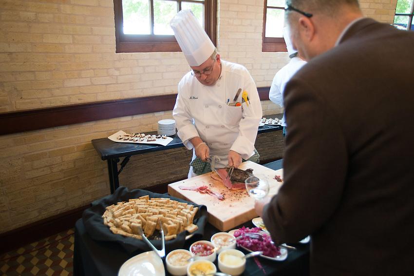 The Culinary Institute of America San Antonio Campus, class graduation, April 15, 2016. (Darren Abate for The CIA)