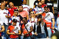 Aficionados y aficionadas de &Aacute;guilas Cibae&ntilde;as de Republica Dominicana <br /> <br /> Aspectos del segundo d&iacute;a de actividades de la Serie del Caribe con el partido de beisbol  &Aacute;guilas Cibae&ntilde;as de Republica Dominicana contra Caribes de Anzo&aacute;tegui de Venezuela en estadio Panamericano en Guadalajara, M&eacute;xico,  s&aacute;bado 3 feb 2018. (Foto  / Luis Gutierrez)