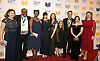 Christopher Paul Curtis and Scholastic group  attends the 69th National Book Awards Ceremony and Benefit Dinner presented by the National Book Foundaton on November 14, 2018 at Cipriani Wall Street in New York, New York, USA.<br /> <br /> photo by Robin Platzer/Twin Images<br />  <br /> phone number 212-935-0770