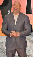 Dwayne Johnson at the &quot;Rampage&quot; European film premiere, Cineworld Empire, Leicester Square, London, England, UK, on Wednesday 11 April 2018.<br /> CAP/CAN<br /> &copy;CAN/Capital Pictures