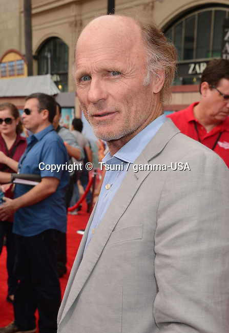 Ed Harris  at the Planes, Fire and Rescue Premiere at the El Capitan Theatre in Los Angeles.