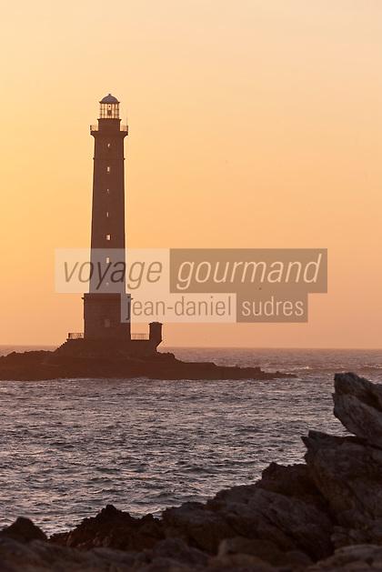 Europe/France/Normandie/Basse-Normandie/50/Manche/Presqu'île de la Hague/Goury: le phare du Cap de la Hague
