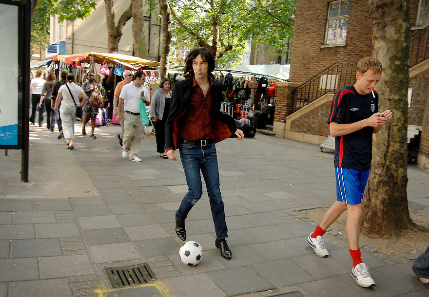 Primal Screams  Bobby Gillespie takes on London before the launch of his new album...