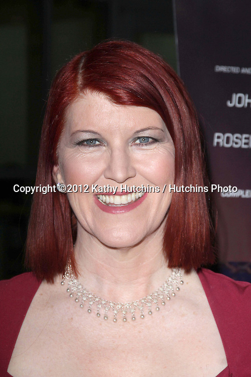 "LOS ANGELES - OCT 2:  Kate Flannery arrives at the ""Nobody Walks"" - Los Angeles Premiere at ArcLight Hollywood on October 2, 2012 in Los Angeles, CA"