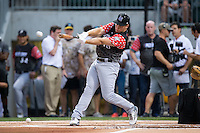 Riley Zayicek of Lake Norman High School competes in the 29th Annual Triple-A Home Run Derby at BB&T BallPark on July 11, 2016 in Charlotte, North Carolina.   (Brian Westerholt/Four Seam Images)