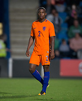 Sherel Florins (Sparta Rotterdam) of Netherlands during the International friendly match between England U20 and Netherlands U20 at New Bucks Head, Telford, England on 31 August 2017. Photo by Andy Rowland.