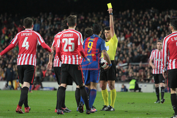 Copa del Rey 2016/2017 - 1/8 final vuelta.<br /> FC Barcelona vs Athletic Club: 3-1.