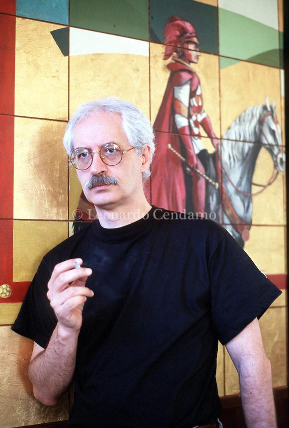 2000: GIANFRANCO MANFREDI, WRITER © Leonardo Cendamo