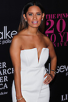 SANTA MONICA, CA, USA - OCTOBER 18: Rocsi Diaz arrives at Elyse Walker's 10th Annual Pink Party held at Santa Monica Airport HANGAR:8 on October 18, 2014 in Santa Monica, California, United States. (Photo by Celebrity Monitor)