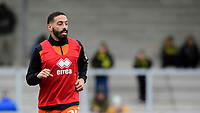 Blackpool's Liam Feeney during the pre-match warm-up<br /> <br /> Photographer Chris Vaughan/CameraSport<br /> <br /> The EFL Sky Bet League One - Burton Albion v Blackpool - Saturday 16th March 2019 - Pirelli Stadium - Burton upon Trent<br /> <br /> World Copyright &copy; 2019 CameraSport. All rights reserved. 43 Linden Ave. Countesthorpe. Leicester. England. LE8 5PG - Tel: +44 (0) 116 277 4147 - admin@camerasport.com - www.camerasport.com