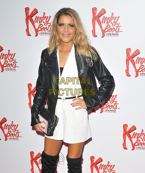 Gemma Oaten attends the &quot;Kinky Boots&quot; press night, Adelphi Theatre, The Strand, London, England, UK, on Tuesday 15 September 2015. <br /> CAP/CAN<br /> &copy;Can Nguyen/Capital Pictures