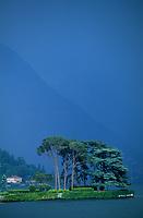 Europe/Italie/Lac de Come/Lombardie/Cernobbio : Le lac
