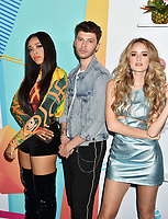 LOS ANGELES, CA - JUNE 02: (L-R) Carvena Jones, James Graham and Stephanie Zelaya arrive at the 2018 iHeartRadio Wango Tango by AT&amp;T at Banc of California Stadium on June 2, 2018 in Los Angeles, California.<br /> CAP/ROT/TM<br /> &copy;TM/ROT/Capital Pictures