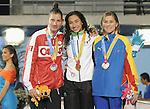 November 13 2011 - Guadalajara, Mexico: Jana Murphy with her Silver Medal at the 2011 Parapan American Games in Guadalajara, Mexico.  Photos: Matthew Murnaghan/Canadian Paralympic Committee