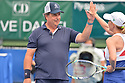 DELRAY BEACH, FL - NOVEMBER 24: Jon Lovitz and Chris Evert attend the 30TH Annual Chris Evert Pro-Celebrity Tennis Classic Day3 at the Delray Beach Tennis Center on November 24, 2019 in Delray Beach, Florida.  ( Photo by Johnny Louis / jlnphotography.com )