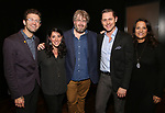 Sam Pinkleton, Rachel Chavkin, Dave Malloy, Michael McCorry Rose and Eleni Gianulis attends the Dramatists Guild Fund's Intimate Salon with Dave Malloy at Stella Tower on June 7, 2017 in New York City.
