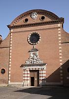 General view of Église Saint Exupère, Toulouse, Occitanie, France on 23.7.19.